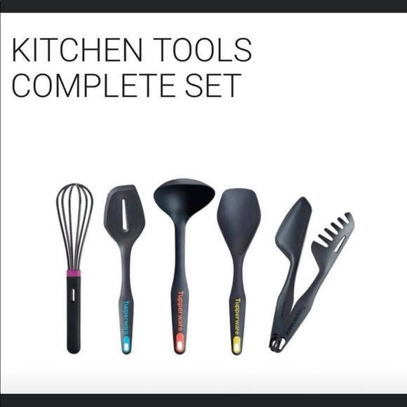 Tupperware Kitchen Tupperware Kitchen Tools Set New Poshmark